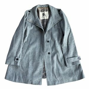 Burberry London Wool And Cashmere Car Coat